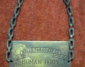 Reserve Listing For Randy - Cool Wells Fargo Human Body Casket Tag