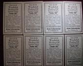 Original Antique Snake Oil Labels