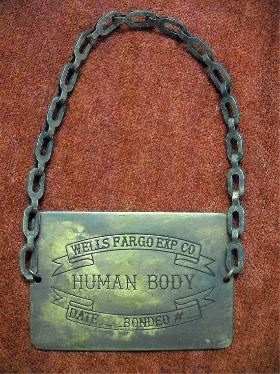 Cool Wells Fargo Human Body Tag