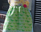 Spring / Easter Halter Dress, size 18mo to 5t