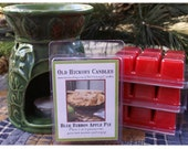 Blue Ribbon Apple Pie Breakaway  Clamshell Candle Tarts Mmmm Good