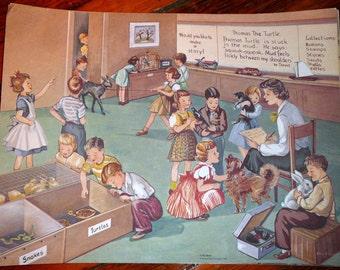 Vintage Classroom Poster: Pet Show