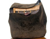 HIPPIE BAG Crossbody Bag Slouch Bag Slouchy Hobo Bag Brown Hobo Bag Cross Body Bag Brown Crossbody Bag Crossbody Purse