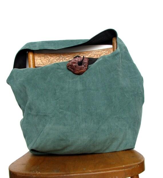 HIPPIE BAG Large Cross Body Bag Bohemian Bag Hobo Bag Crossbody Bag Shoulder Bag Large Hobo Bag Teal Bag Grey Bag