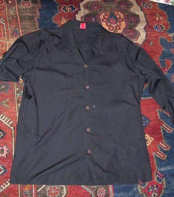 Vintage Jean Paul Gaultier Classique Black Man's Shirt sz 16 1/2 42