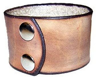 Item 020710 Hand Made Western Leather Wrist Cuff