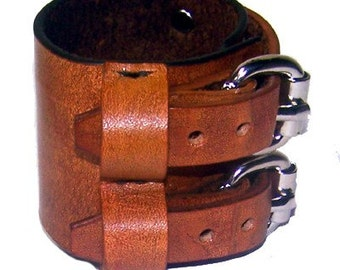 Item 021110 Johnny Depp Leather Wrist Cuff Bracelet Wristband