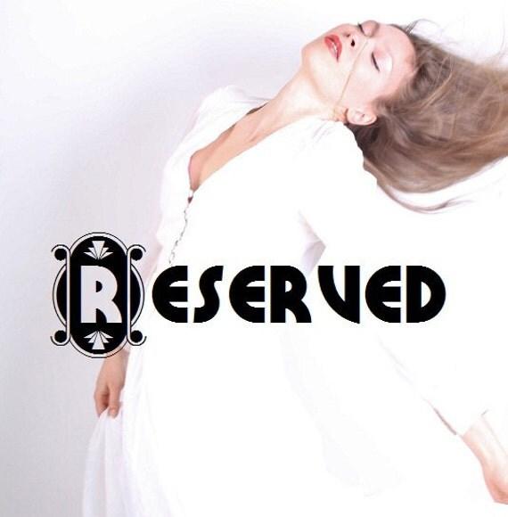 Reserved - 1940s Cocktail Dress / Beaded / Black and White / Designer Dress  / Black Dress / Mad Men / 40s Dress / Couture / 0629