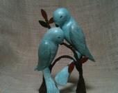 Deposit for Custom Order - Love Bird Wedding Cake Topper