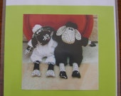 ON SALE - Black sheep, White Sheep by Melly and Me (Sewing Pattern)