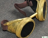 Steampunk Cyber Goggles Glasses Cosplay Anime Larp 16