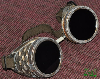 Steampunk Cyber Goggles Glasses Cosplay Anime Rave   11
