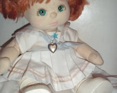 vintage 1985 Mattel MY CHILD redhead girl, wonderful condition