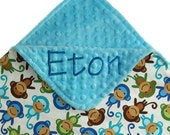 Personalize any of my blankets, knot lovey's or tag comforters with this Add On