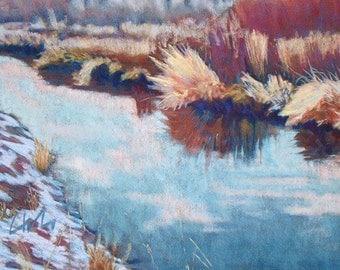"Pastel Landscape ""Waiting"" Limited Print"