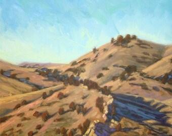 "Oil Landscape ""Treasure State"" Limited Print"