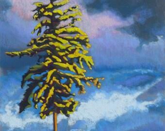 """Pastel Landscape """"Northwest Only"""" Limited Print"""