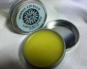 HERBAL LIP BALM Botanical Salve All Natural Full One Ounce Tin