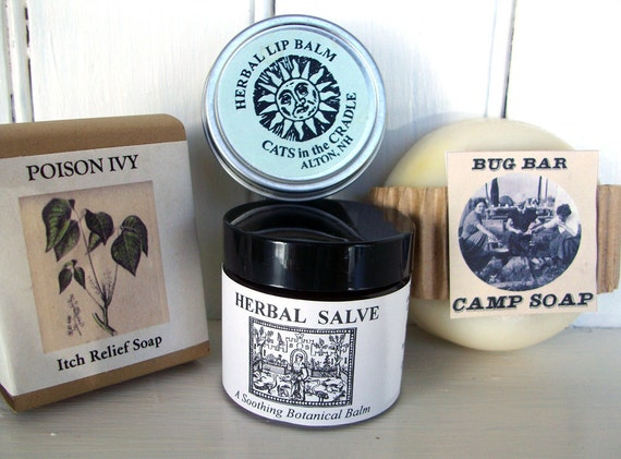 CAMPERS SURVIVAL KIT Soaps Salve Lip Balm