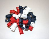 Red, White and Blue Korker Bow