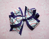 Baseball Boutique Bow-You Choose the Color