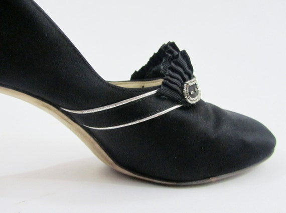 1920s Dress Shoes Vintage 20s Shoes In Black By 4birdsvintage