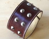 SHEEN Leather Cuff