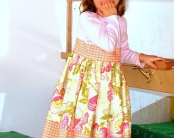 Sample Sale Amy Butler Tshirt Dress Size 4T