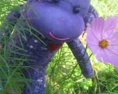 Puddles O'Purplepassion Sock Monkey