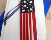 Funky Flag Laminated Bookmark