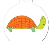 Turtle-Licious --- Pet Tags, 2 sided, personalized