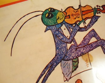 Japanese Memo-Note.40s.Cicada