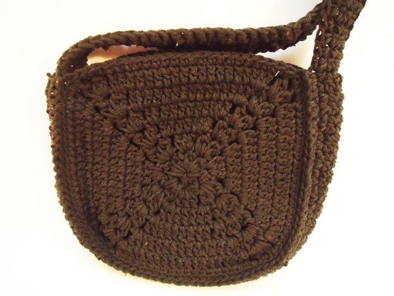 Crochet Handbag vintage from Marbella