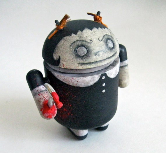 Killer Goth Girl Customized DIY Android Toy