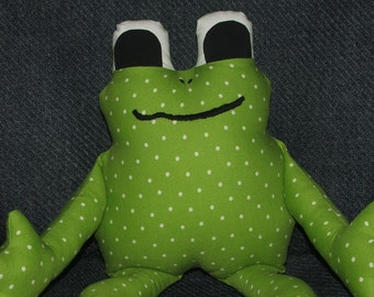 Frog Sewing Pattern PDF