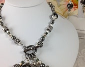 RESERVED for SUE Necklace and Earring Set