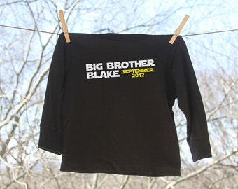 Big Brother Announcement // A New Hope with Personalization // Long Sleeve