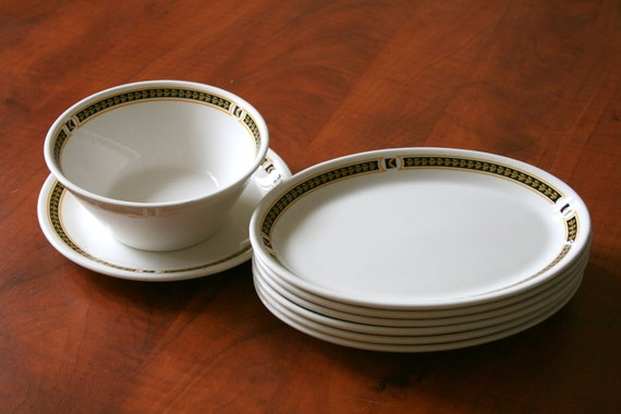 Canadian Pacific Syracuse Ironstone China Hotel Ware and Train Ware