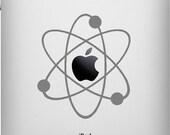 Atomic Apple iPad Vinyl Decal Sticker
