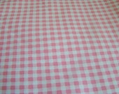 Pink Gingham by Kaye England for Wilmington Prints Back Porch Prints