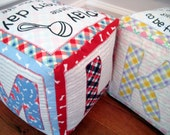All About Me - Personalized Fabric Blocks