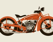 RED 1920 MOTORCYCLE