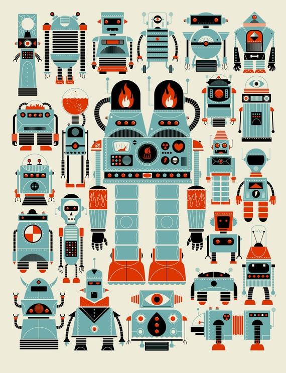 Robots by Methane Studios
