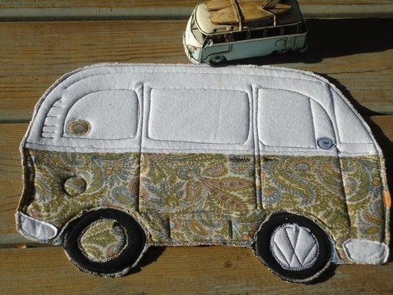 Clearance,VW Bus, Table mat or placemat, was 15.00