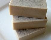 Vanilla Mint Goats Milk Soap with Organic Vanilla Bean Specks