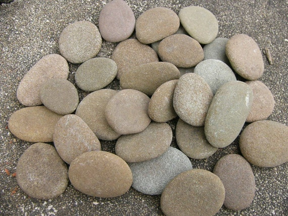 Reserved for jammie river rocks large mixed lot small flat for Small river pebbles