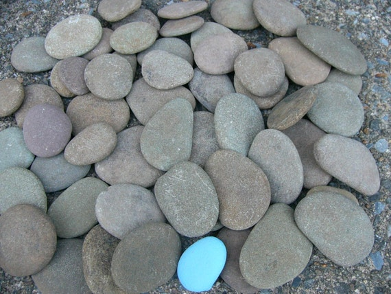 River rocks big flat craft painting natural creek rocks lot for Where to buy flat rocks for crafts
