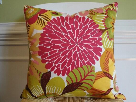 Beautiful Decorative Pillow Cover 18 INCH - Throw Pillow - Accent Pillow - Designer fabric