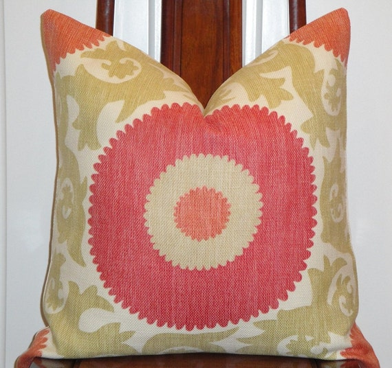 Decorative Pillow Cover 22 x 22 Designer by TurquoiseTumbleweed