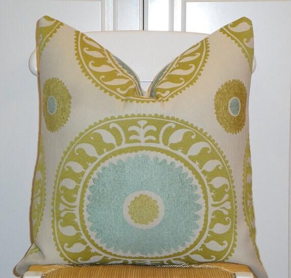 Beautiful Decorative Throw Pillows : Beautiful Decorative Pillow Cover 20x20 Designer Fabric